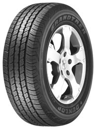 Dunlop Grandtrek AT 20 265/65 R17 112S , links TOYOTA Land Cruiser