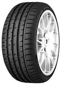 Continental ContiSportContact 3 E SSR 275/40 R18 99Y *, runflat BMW 5 5/1, BMW 5 5/D, BMW 5 5/DS, BMW 5 5/H, BMW 5 560L, BMW 5 560X, BMW 5 5L, BMW 5 H