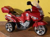 Elektrická motorka VIPER pro děti, vínová