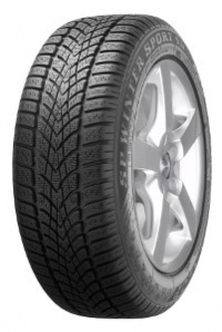 Dunlop SP Winter Sport 4D DSROF 225/50 R17 94H *, ochrana ráfku MFS, runflat BMW 4 Cabrio 3C4, BMW 4