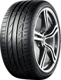 Bridgestone Potenza S001 RFT 255/45 R17 98W *, , runflat, ochrana ráfku MFS BMW 3 Gran Turismo 3-VG, BMW 3 Gran Turismo 3K-N1G