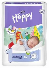 Bella Happy Newborn (2-5 kg) 42 ks