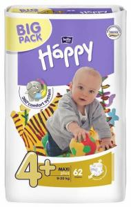 Bella Happy Maxi Plus Big Pack (9-20 kg) 62 ks
