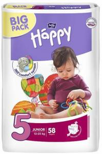 Bella Happy Junior Big Pack (12-25 kg) 58 ks