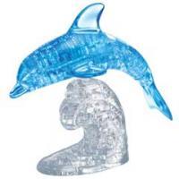 3D Crystal puzzle Skákající delfín