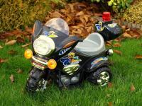 Elektrická silniční minimotorka, černá