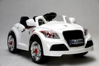 Elektrické sportovní kabrio s DO, 2 motory, 12V, bílé