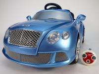 Elektrické autíčko Bentley, s dálkovým ovládáním, licence, modrá