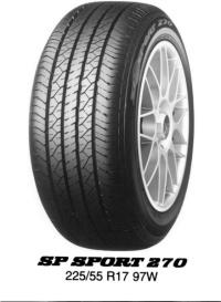 Dunlop SP-270 LHD 235/55 R18 100H