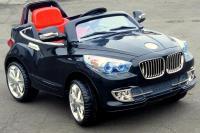Elektrické autíčko bavor s DO, 4 rychlosti, černý