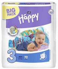 Bella Happy Midi Big Pack (5-9 kg) 72 ks