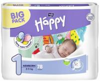 Bella Happy Newborn Big Pack (2-5 kg) 78 ks