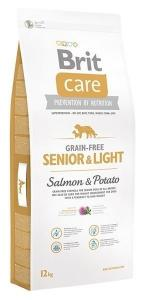 Brit Care Grain-free Senior&Light Salmon & Potato 12 kg