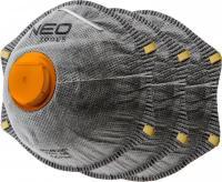 Neo Tools 97-301 respirátor FFP2 s aktivním uhlím - 3 ks