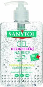 SANYTOL Antibakteriální gel na ruce 250 ml